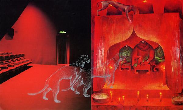 Ronald Curchod, Exposition à Pollen, Monflanquin, 2002