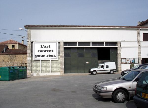 Emile Parchemin, Commandes artistiques, Monflanquin, 2006