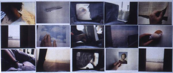 Didier Courbot, artiste en résidence en 1995, Pollen