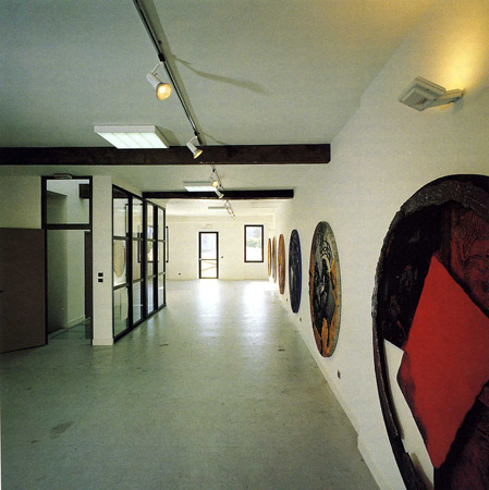 Rosario Mineo, artiste en résidence en été 1991, pollen