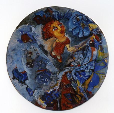 Marika Perros, artiste en résidence 1991, Pollen