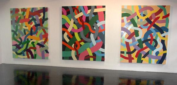 Ervé Brisse et Jean Marie Blanchet, Exposition à Pollen, 2003