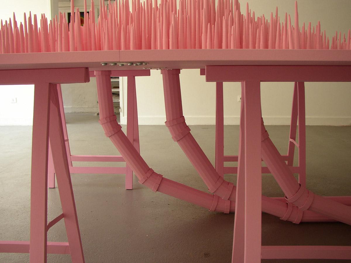 Michelle Allard, exposition à Pollen, 2005