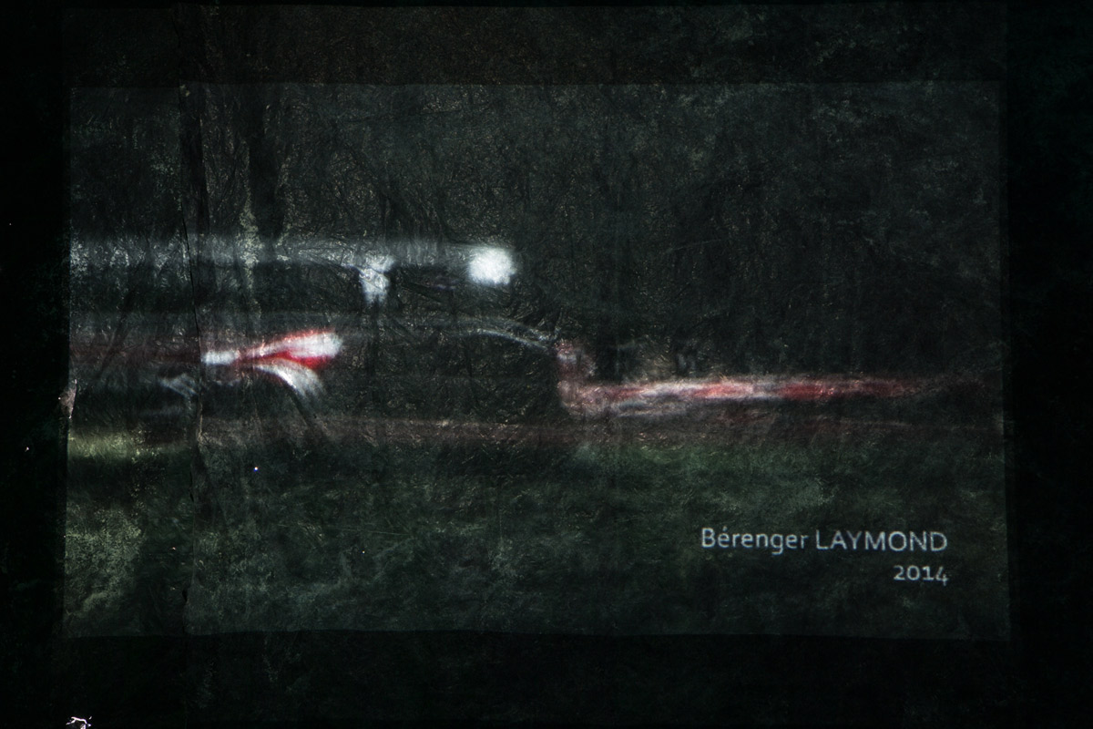 Bérenger Laymond, artiste en résidence, 2014