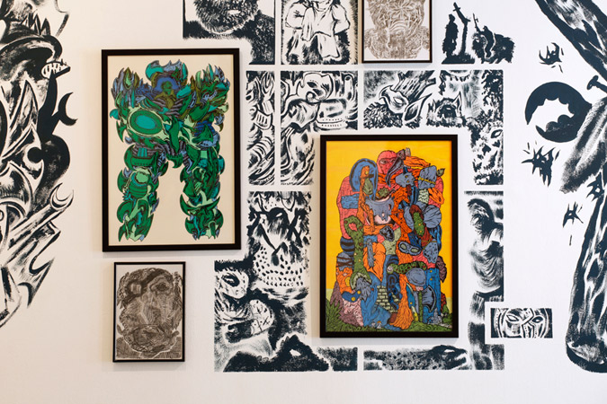Ludovic Boulard le Fur, exposition itinérante, 2013