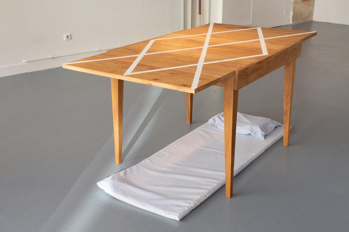 Jean Charles Remicourt-Marie, artiste en résidence, 2018, Pollen