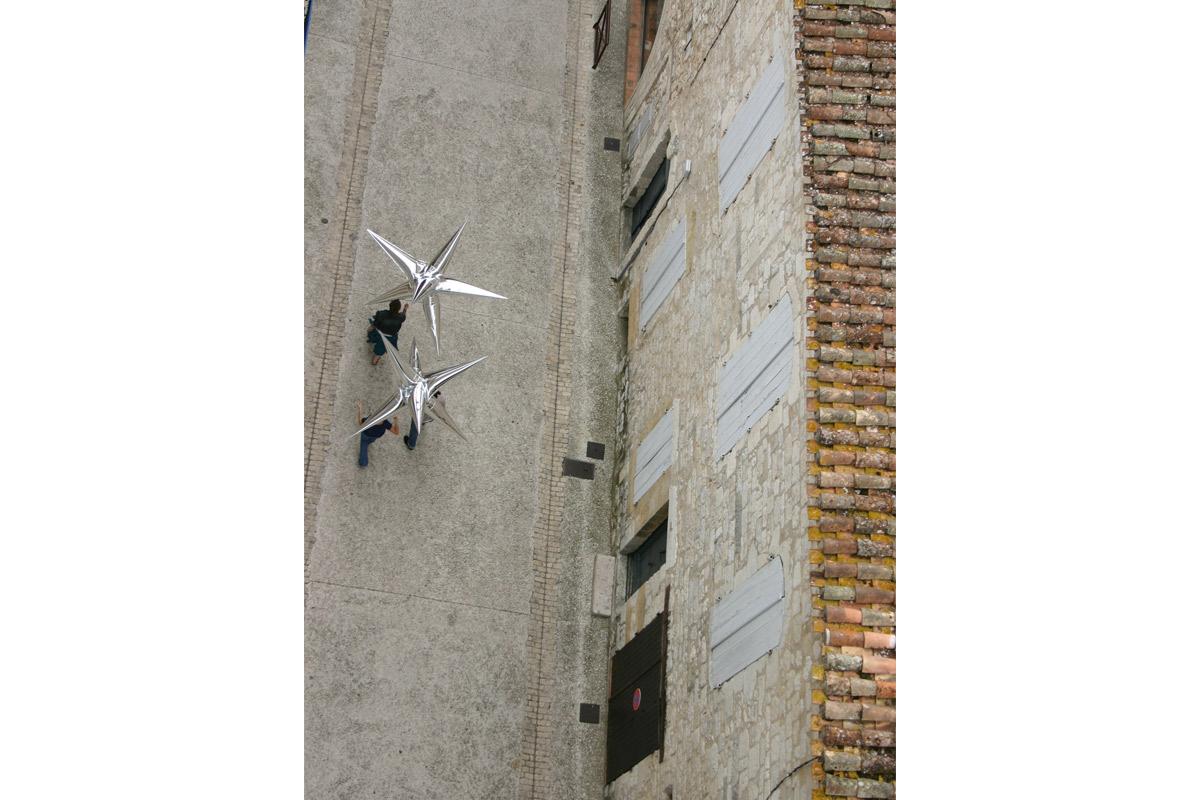 20 ans de Pollen 2011 Aérosculpture, Nino Laisné, Paganella