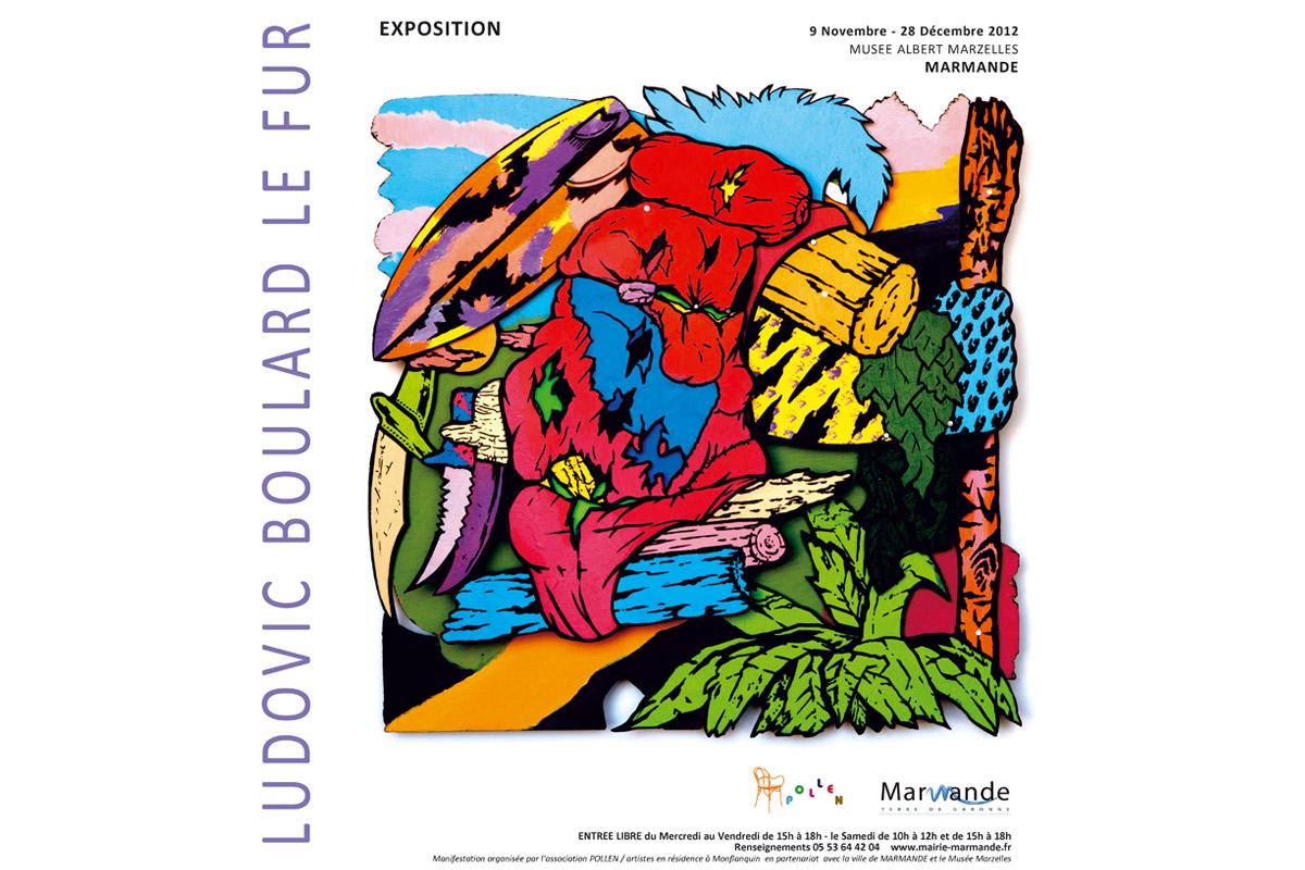 Exposition Traquenard Boulard le Fur Pollen