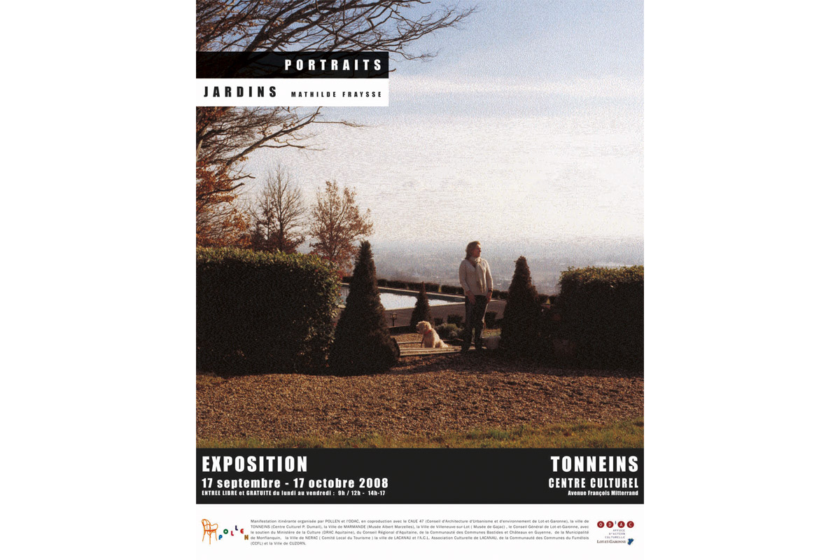 Mathile Fraysse, exposition itinérante, Pollen, Monflanquin, 2008