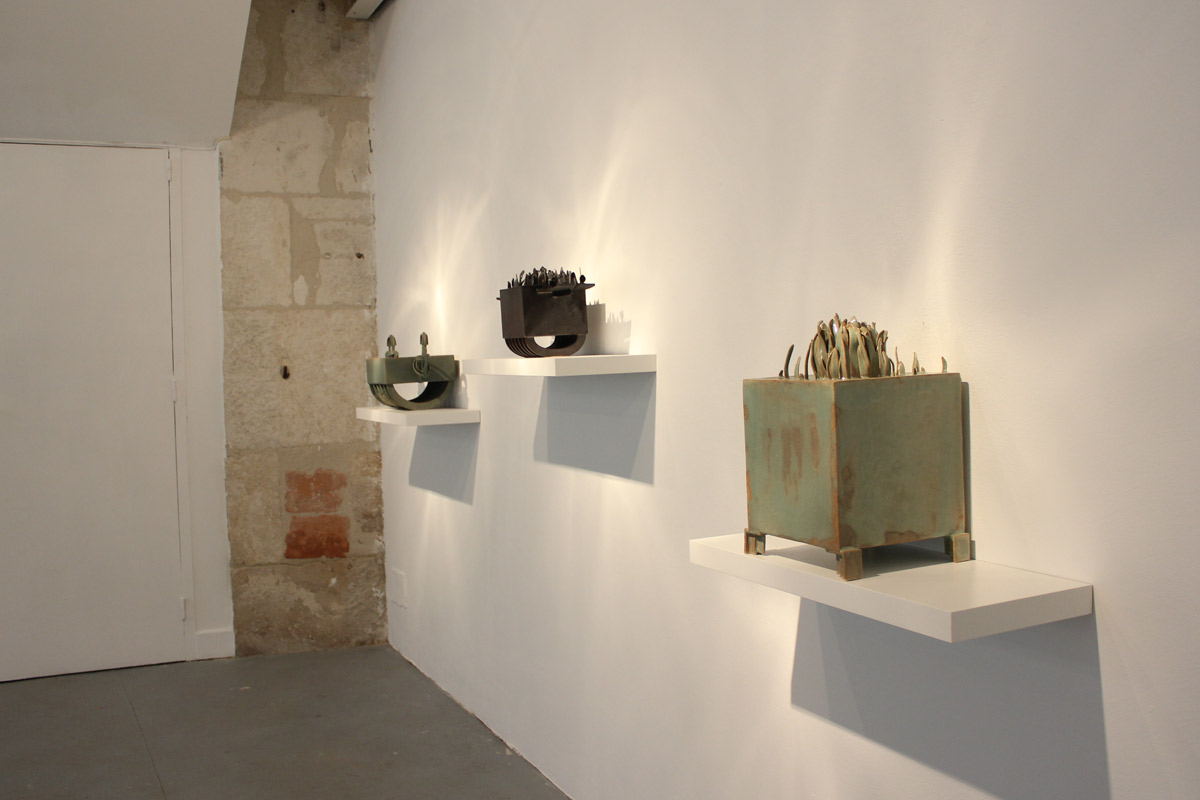 Exposition de Sarah Maso Pollen Musée de Gajac 2017