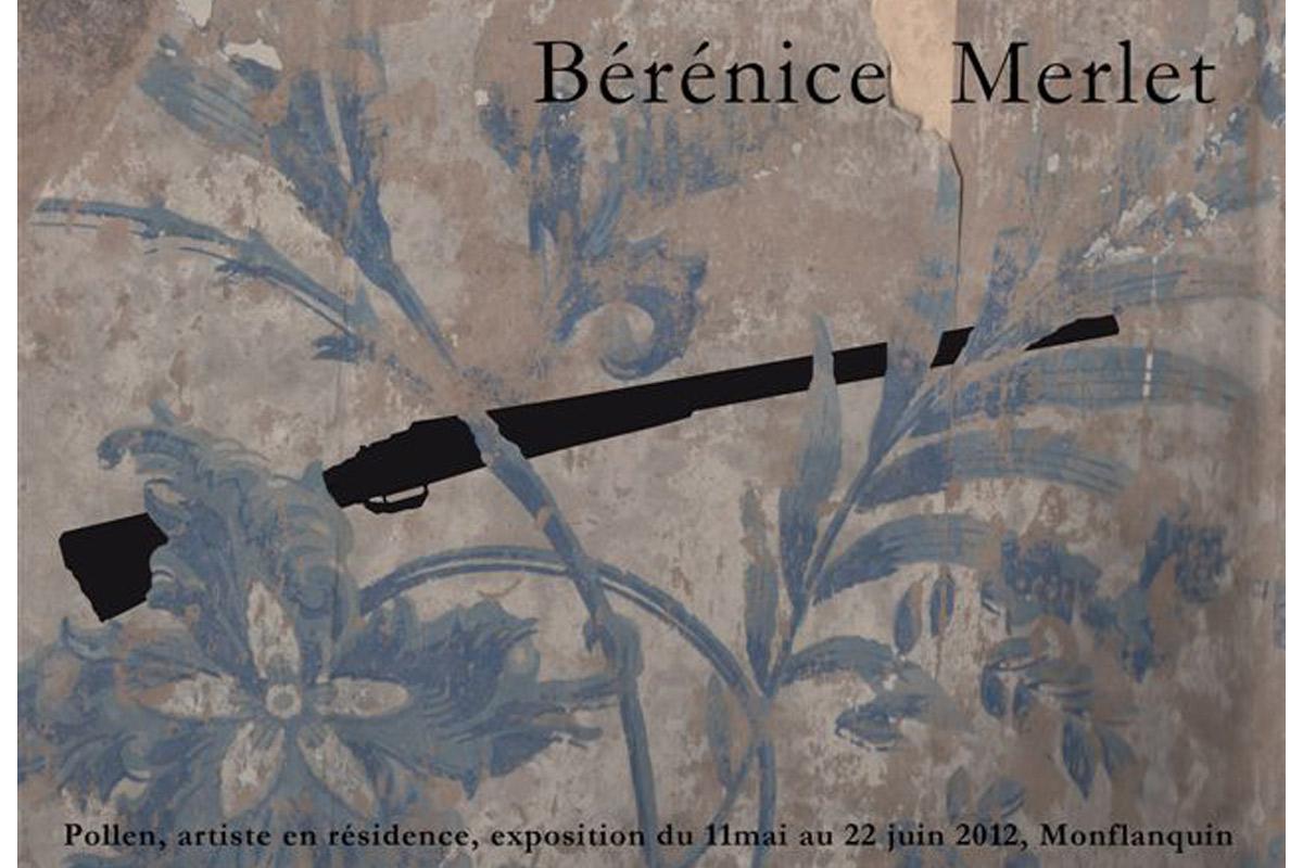 Bérénice Merlet, résidence 2012, pollen