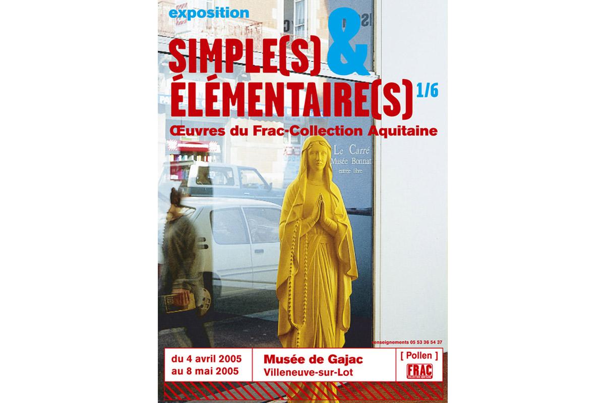 Simples & Elémentaires exposition itinérante Pollen Frac