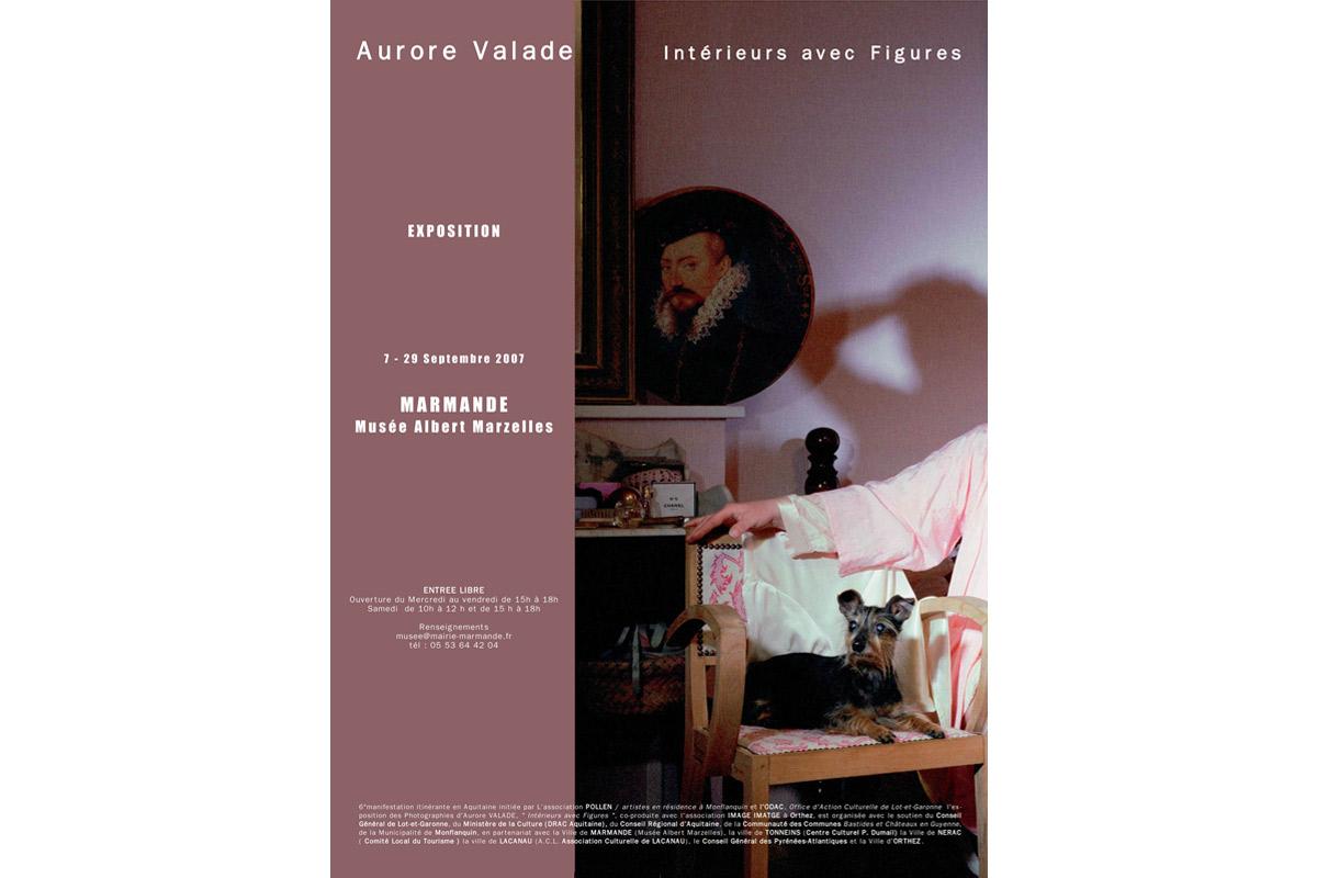 Aurore Valade, exposition itinérante, Pollen, Monflanquin, 2007