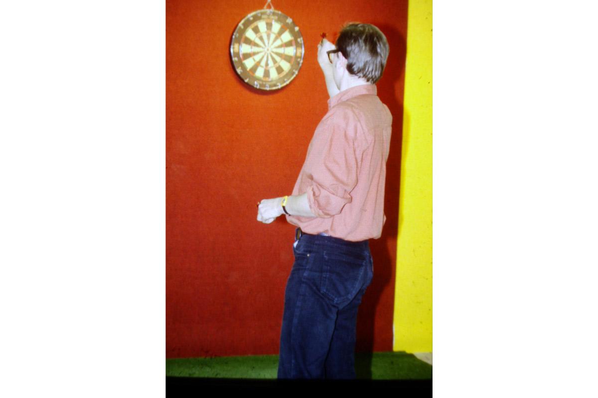 Eric Arlix, accueilli en résidence en 1993, Pollen