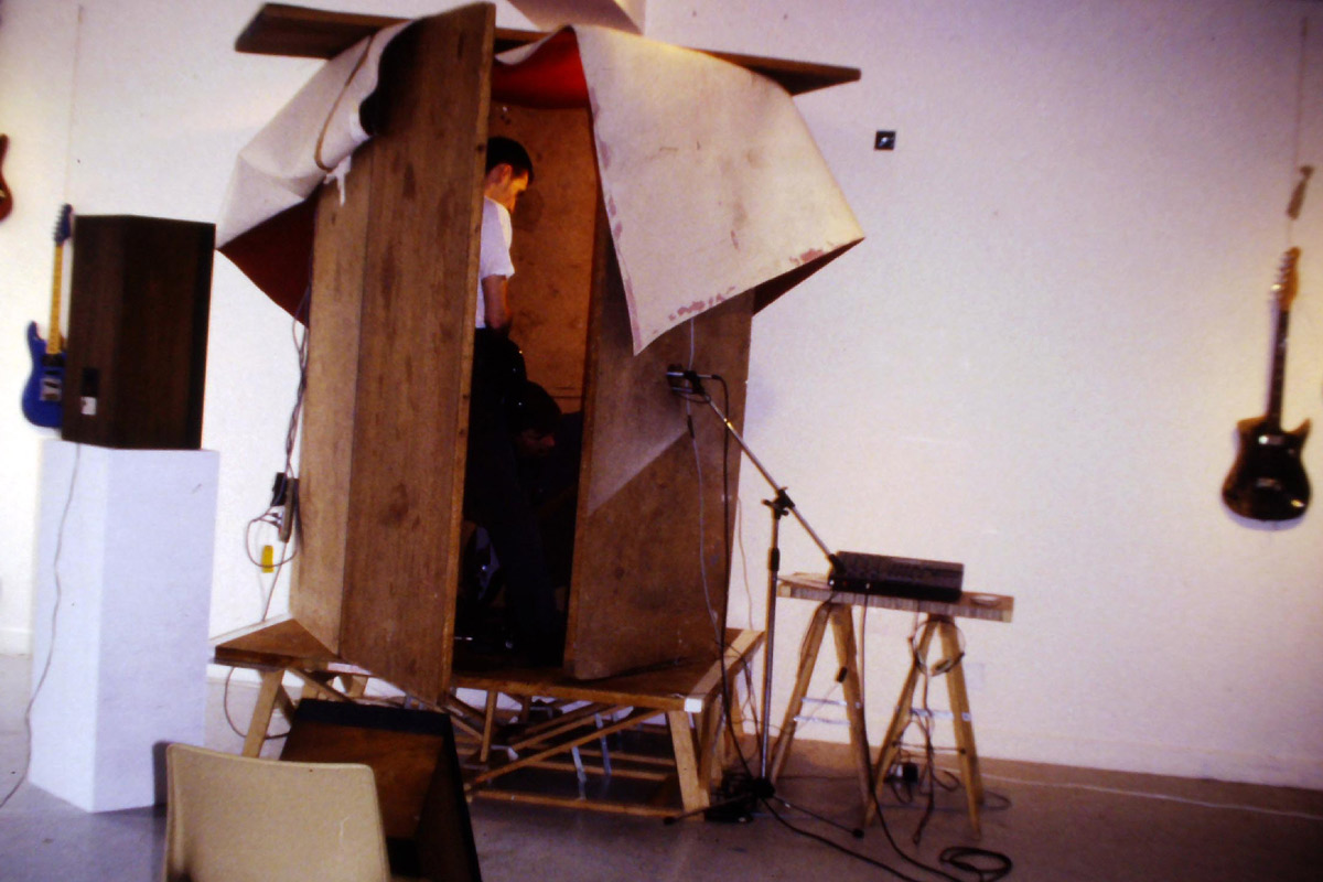 Xavier Boussiron, artiste en résidence en 1993, Pollen