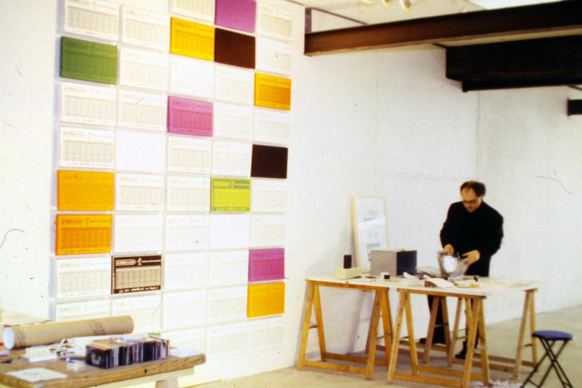 Guy Chevalier, artiste en résidence en 1994-1995, pollen