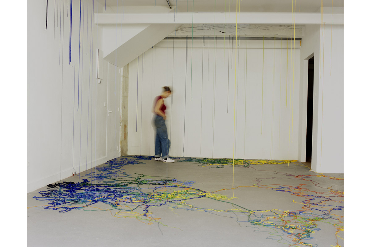 Julie Legrand, artiste en résidence, 2004