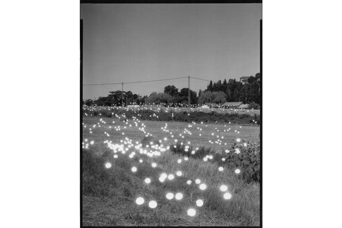 Tokihiro Satoh, artiste accueilli en résidence en été 1993, pollen