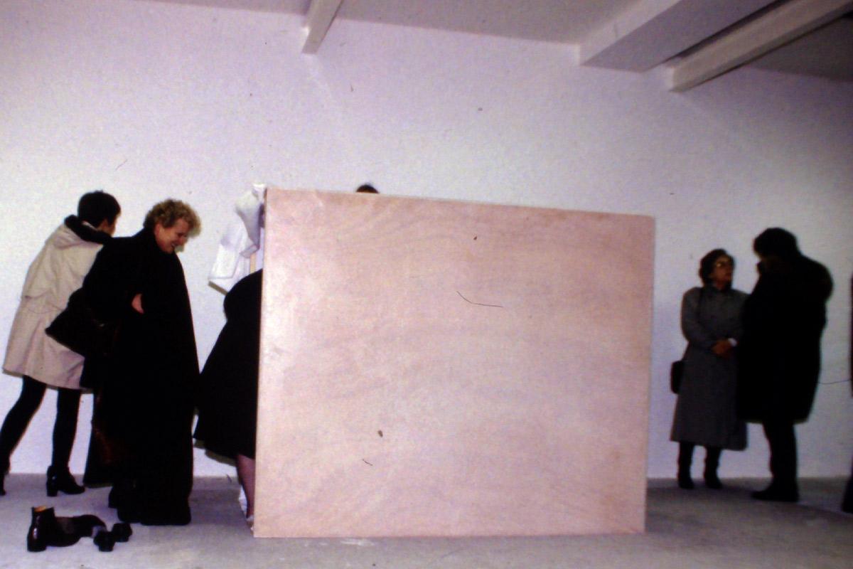 Marika Bührmann, artiste en résidence, 1997